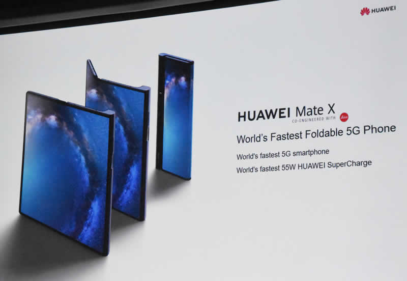 Huawei slide 16 Mate X Foldable