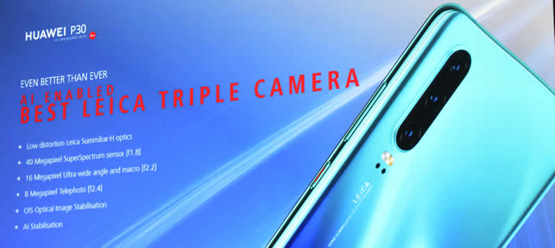 Huawei slide 29 Leica triple camera