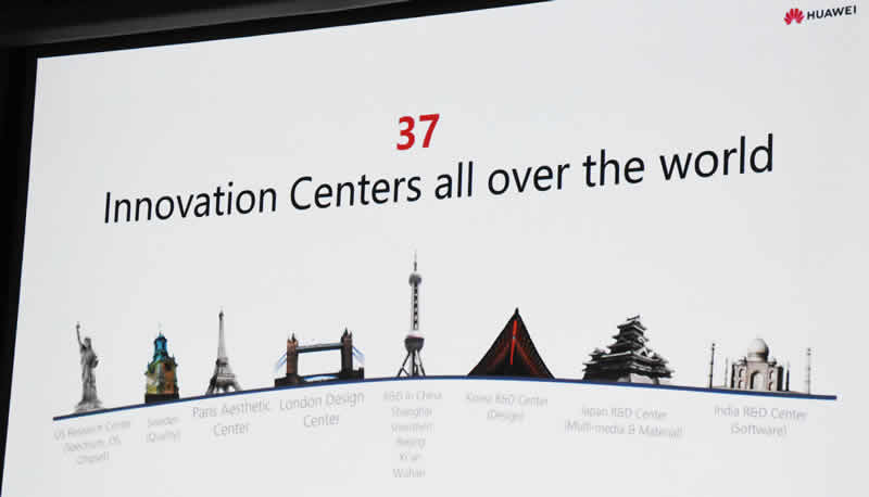 Huawei slide 7 37 innovation centers