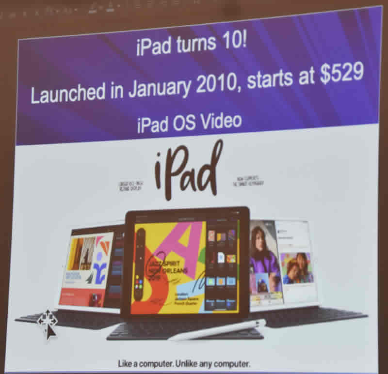 iPad turns 10