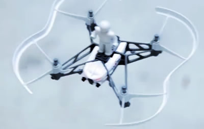 Cargo drone with pilot