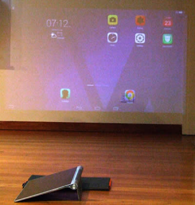 Yogo Projector Tablet