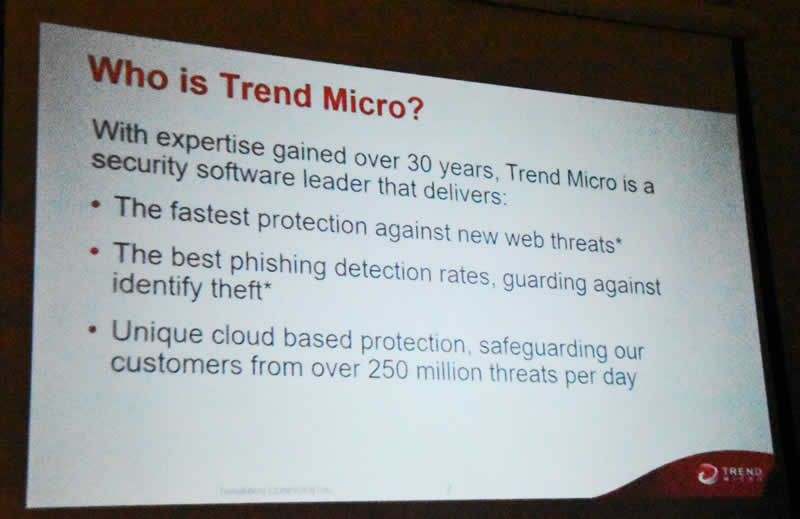 Trend Slide 1 Who are Trend Micro