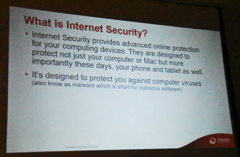 Trend Slide 2 What is Internet Security