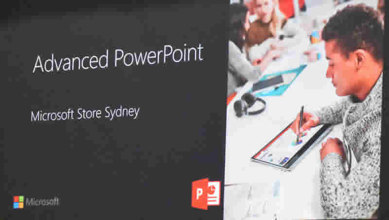 MS Store Power Point