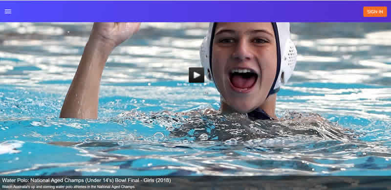 OVO Water Polo Under 14 teens