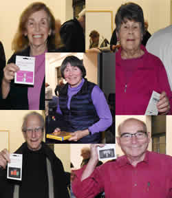 Our May Raffle winners