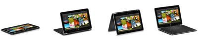 XPS Tablet Positions