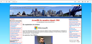 Our site translated into French