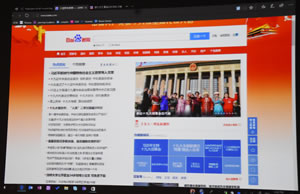 The Chinese official Search engine