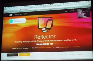 Reflector software site