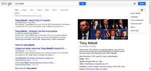 Results for Tony Abbott
