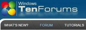 Windows 10 Forums