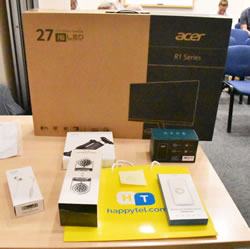 Acer and Happy Tel prizes