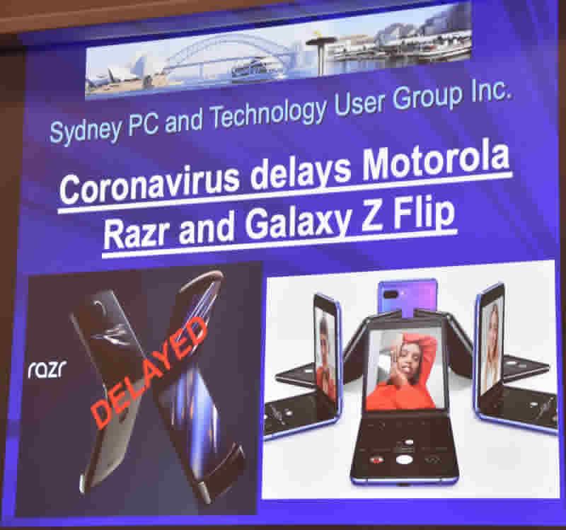 February 20 Slide 1 Razr & Galaxy Z