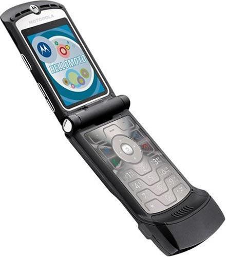 Old RAZR phone
