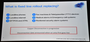 NBN Slide 4 Whats being relpaced