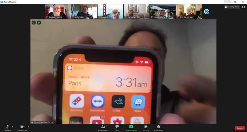 June 20 Slide 5 siri shows the time in Paris