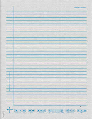 Livescribe note paper