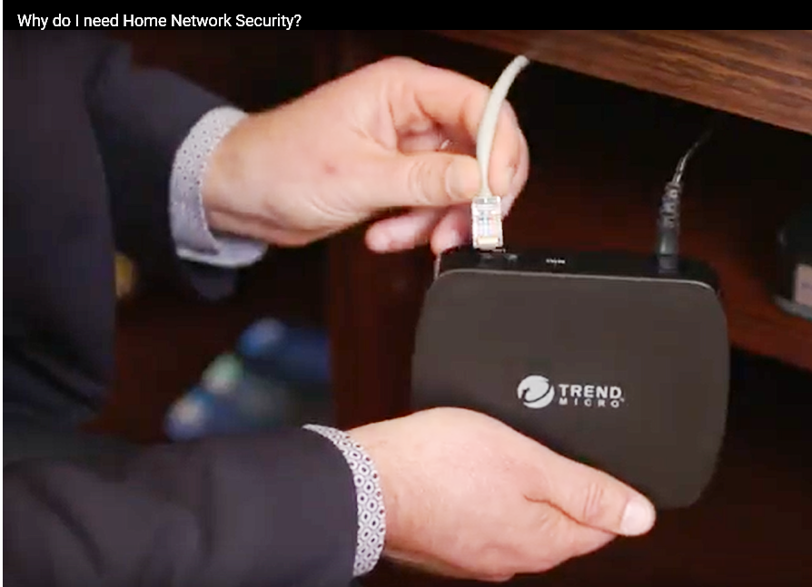 Trend Home Network Security Device